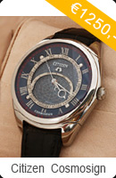 Citizen Campanola Cosmosign European Limited Edition